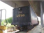 C&O 2716 Tender Rear