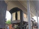 C&O 2716 Locomotive Rear