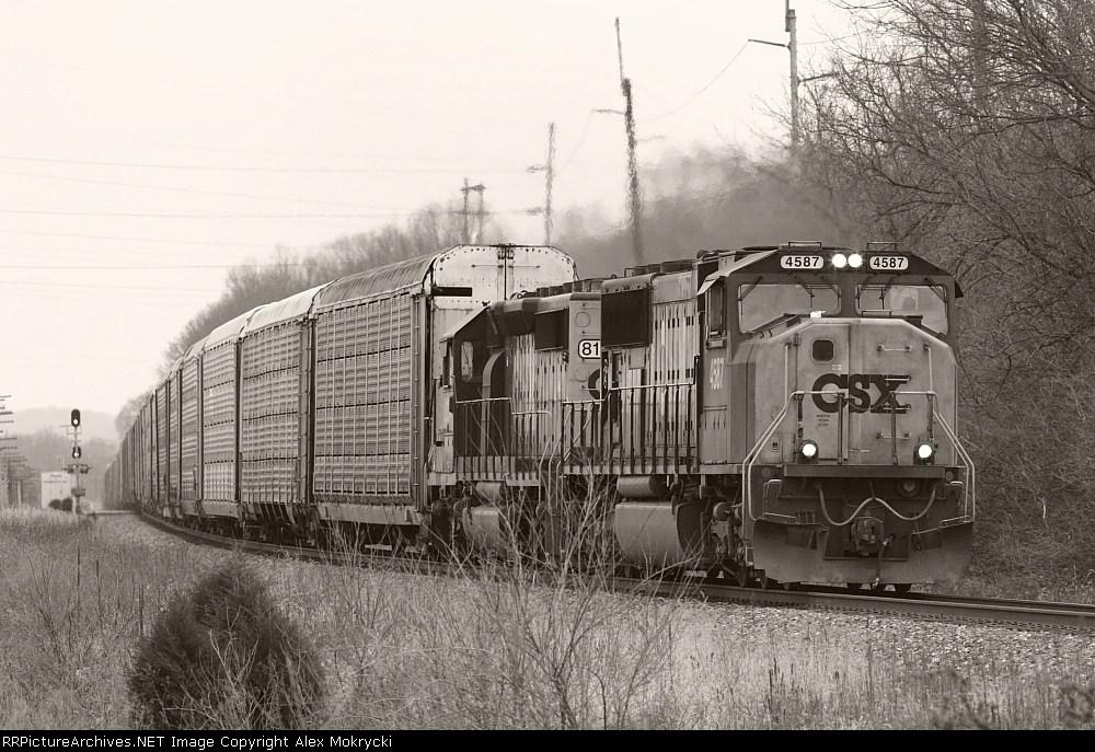 CSX 4587 North