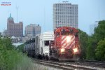 Headed toward the east Muskego yard lead