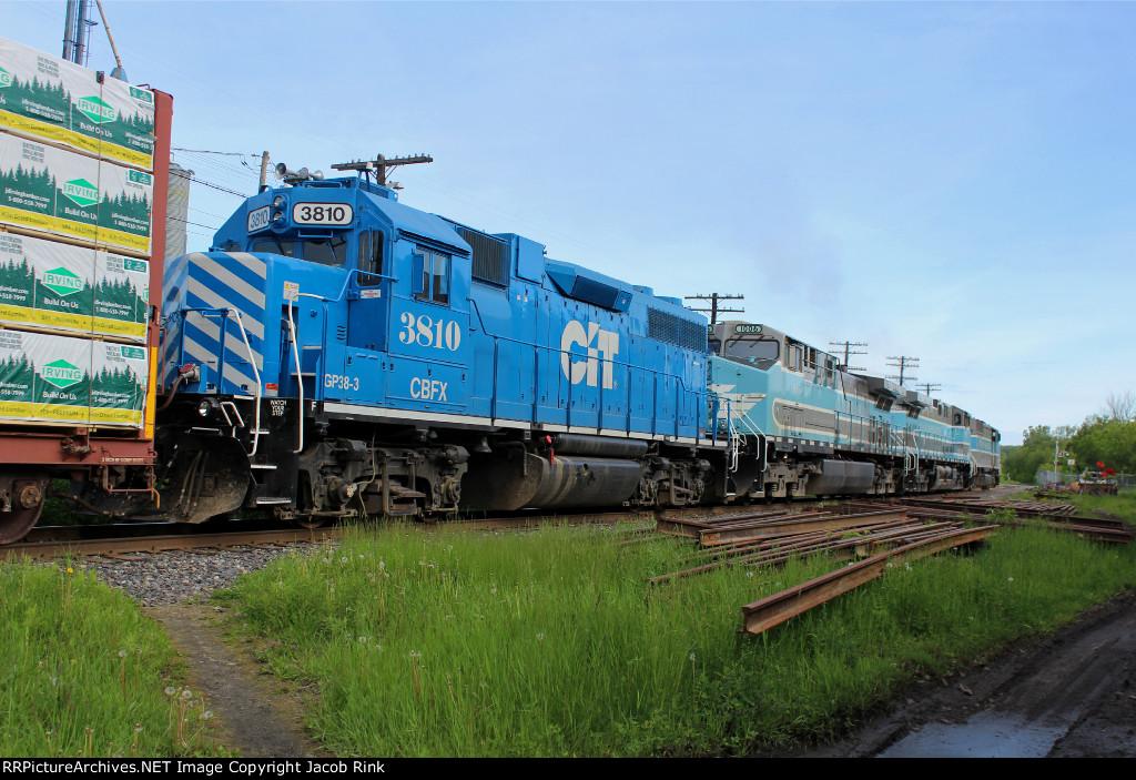 CBFX GP38-2 3810