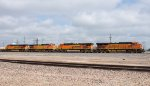 A quartet of GE's power an intermodal east