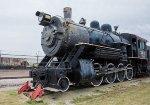 A FW&D 2-8-0 enjoys retirement at the Wichita Falls Railroad Museum