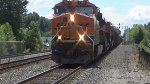 BNSF 7267 Leads a Coal Train