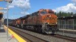 BNSF 6864 Leads a Crude Oil Train
