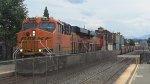 BNSF 6544 Leads the Garabage Train