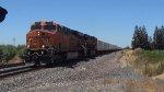 BNSF 7535 Leads an Intermodel Train