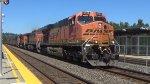 BNSF 5760 Leads a Coal Train