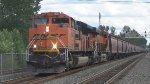 BNSF 9149 Leads a Grain Train