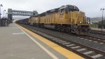 UP 1092 Leads the South City Switcher