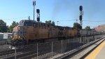 UP 5651 Leads a Grain Train