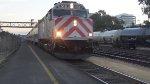 JPBX 918 Leads Caltrain 310