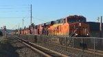 BNSF 7070 Leads a Manifest