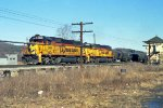 Chessie SD50 Units Pass HO Tower