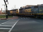 CSX Rock Train at Piccadilly Street.