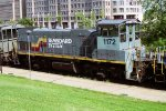 CSX MP15AC 1172 in Seaboard System Livery