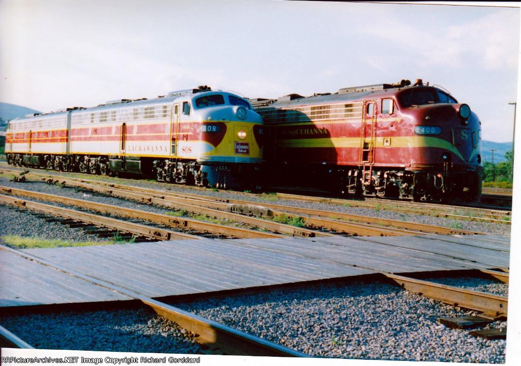 EL 808 & 807 and NYSW 2400