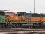 BNSF 1454, one of the only H1 locomotives.