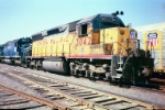UP SD40X # 3042 in deadline in San Antonio