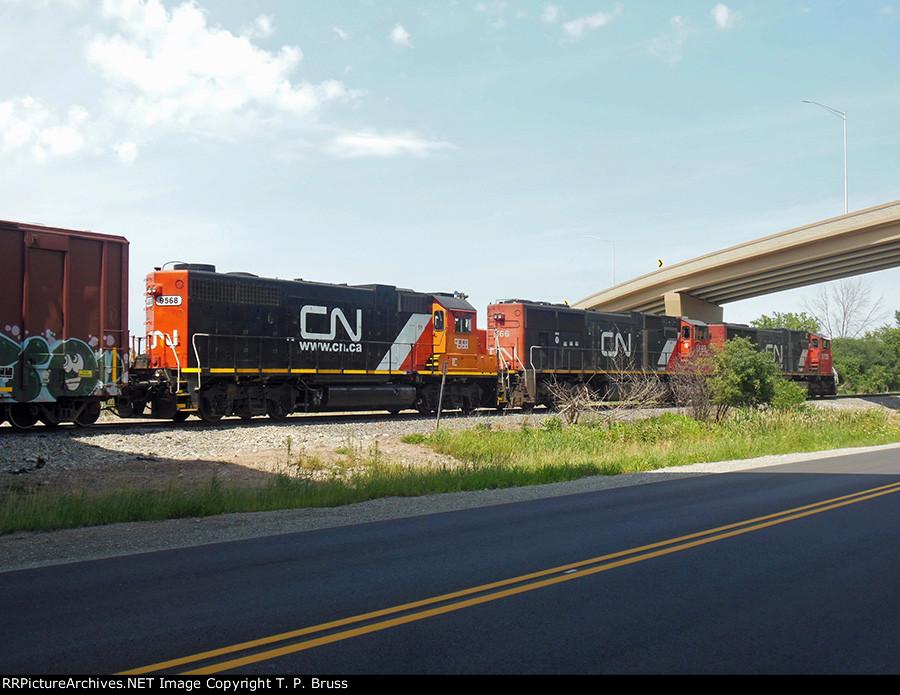 CN 5735, CN 5666, IC 9568