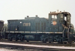 MP 1389 at Settegast Yard in Houston, Texas
