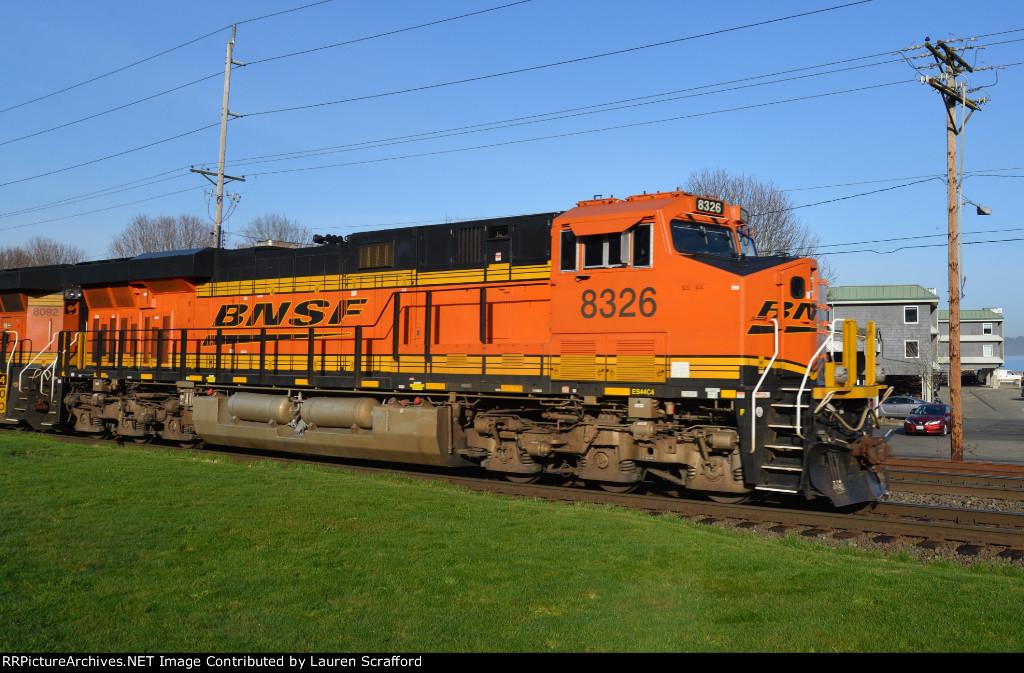 BNSF 8326 North