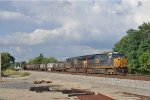 CSX 3320 On CSX Q 509 Working New River Yard