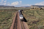 Amtrak Southwest Chief races eastward