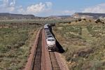 Amtrak Southwest Chief races eastward