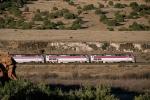 Amtrak No. 4 approaching Mesita Indian Reservation