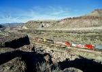 Santa Fe westbound in Kingman Canyon