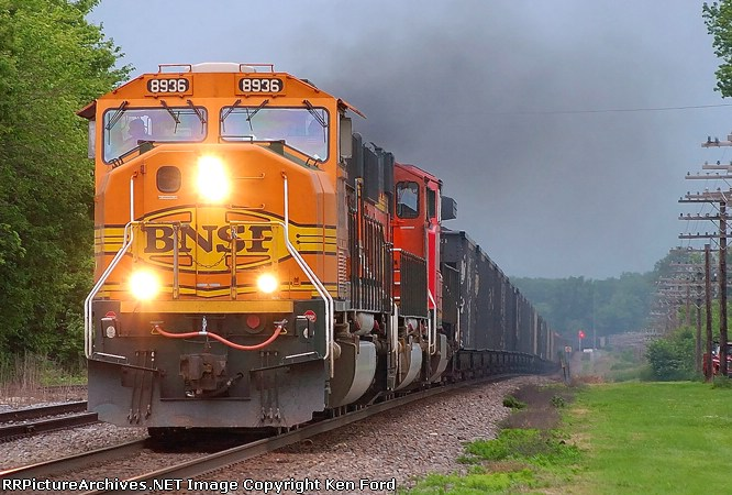 BNSF 8936 East