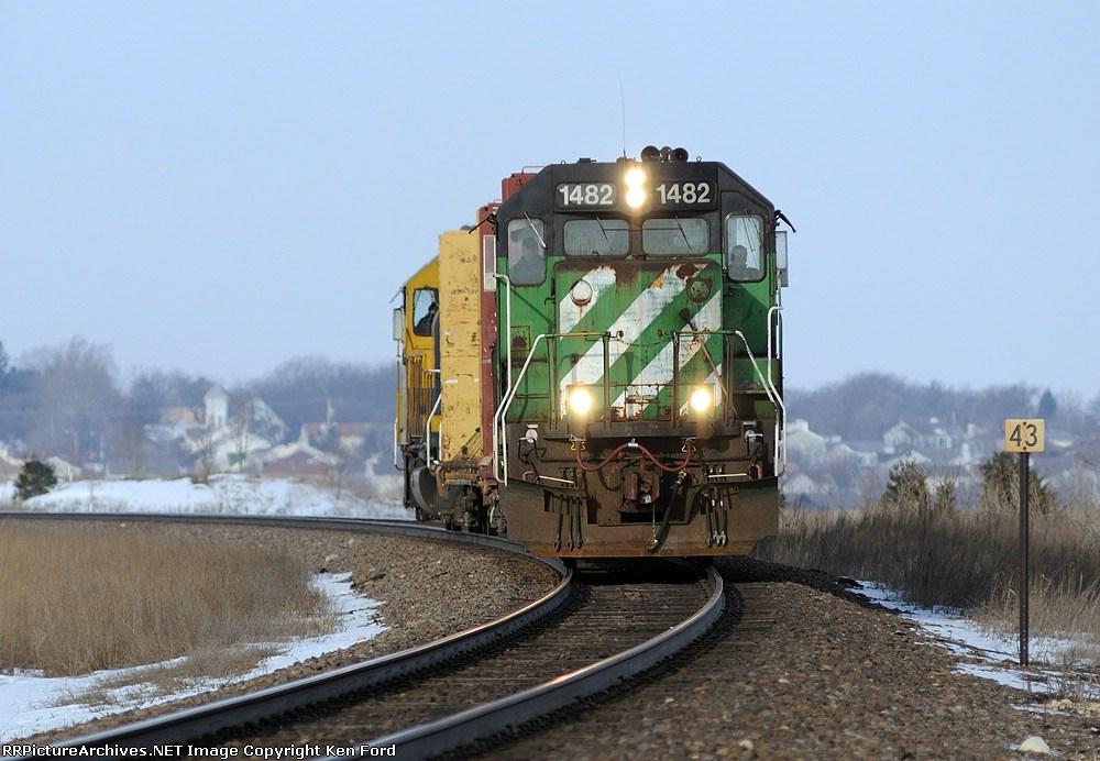 BNSF 1482 East
