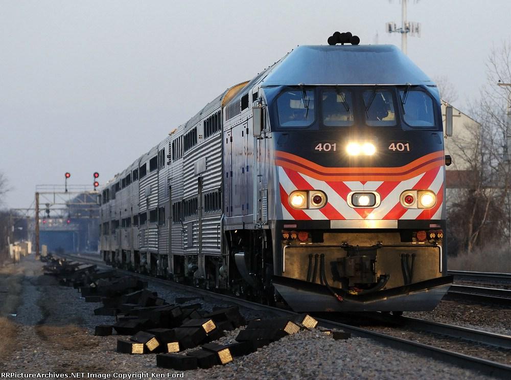 Metra 401 on Train 1271