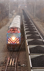 Metra Train 1231