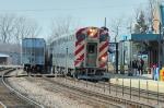 Metra Train 50