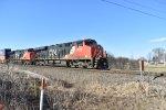 CN Stacks Southbound