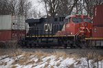 """Southbound Stacks"" Starring CN 2802 as DPU"