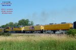 """Two auxiliary water tenders and the """"safety"""" diesel"""