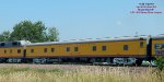 Deluxe sleeper with the Big Boy eastbound south of Beaver Dam on its summer Midwest tour