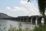 NS Train 15T on Rockville Bridge