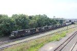 Train 35A assembling at Enola Yard.