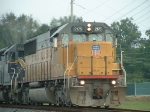 UP 2175 leads a southbound CSX train