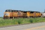UP power on ethanol train
