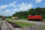 Kirby Farms Railway locomotive in the F&N Yard