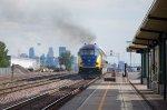 MNRX 503 smokes it up as it heads for Minneapolis