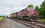 CP 9658 crosses over to the main