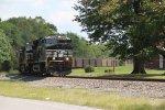 NS 3635 leads a coal train west