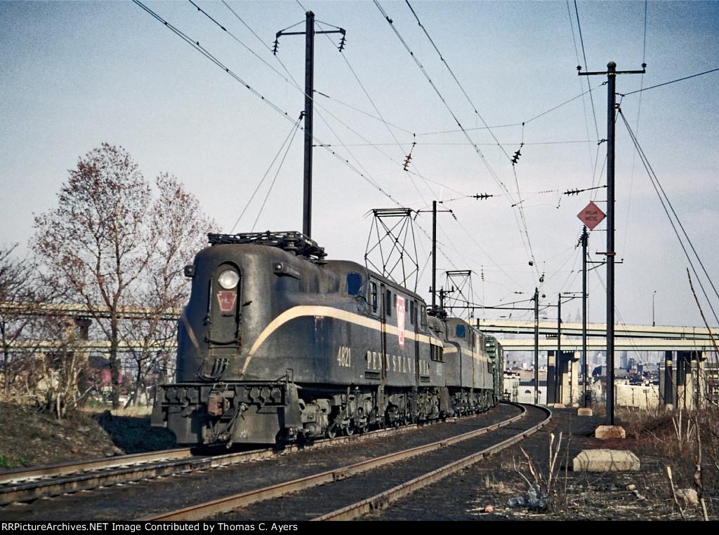 PRR 4821, GG-1, c. 1964