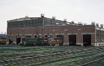 PRR Harrisburg Engine House, c. 1964